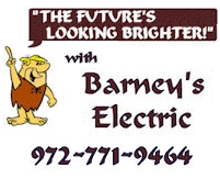 Barneys Electric Master Electrician Dallas County Collin County Rockwall County Kaufman County