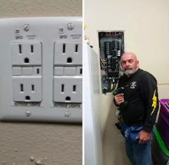 Residential Electrician Rockwall TX Barney's Electric Full Service Electrician Residential Commercial Retail and New Construction Wiring Repair Installation Service 24 Hour Emergency Services Master Electrician Rockwall Texas